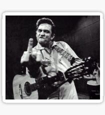 Johnny Cash Swearing Sticker