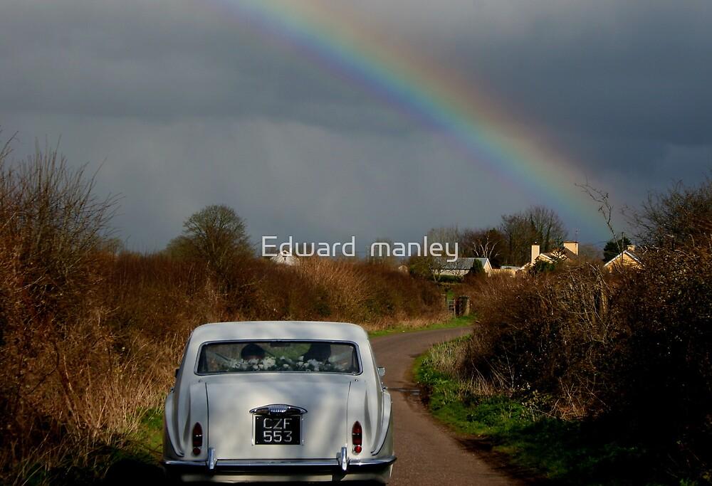 wedding day by Edward  manley