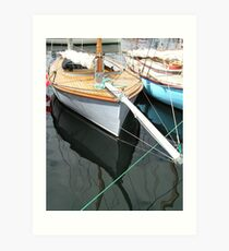 'Couta boat' Art Print
