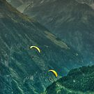Two Paragliders by Xandru