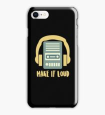 Make It Out Loud - Retro, Retro Technology, Retro Life, Classic iPhone Case/Skin