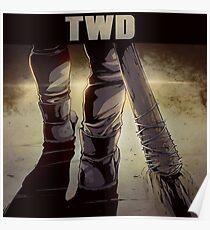 TWD, Negan Lucille Comic Poster