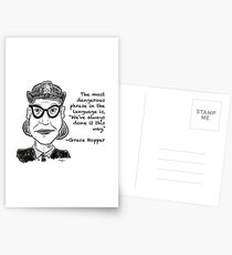 Grace Hopper Postcards