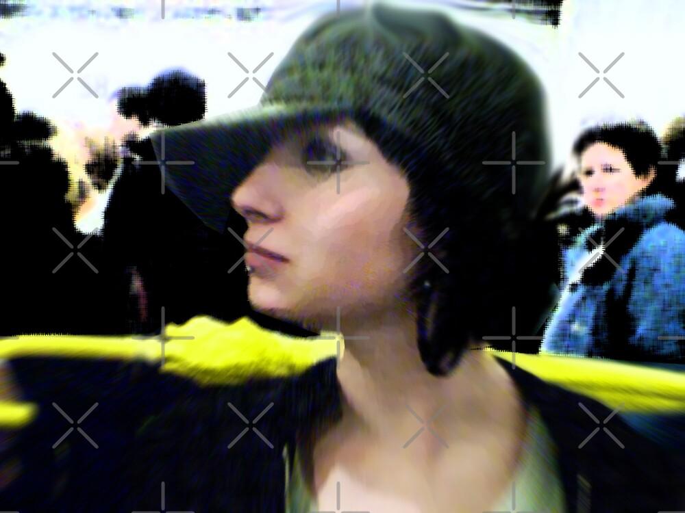 Yellow Umbrella by Gal Lo Leggio