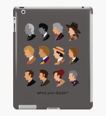 doctor iPad Case/Skin