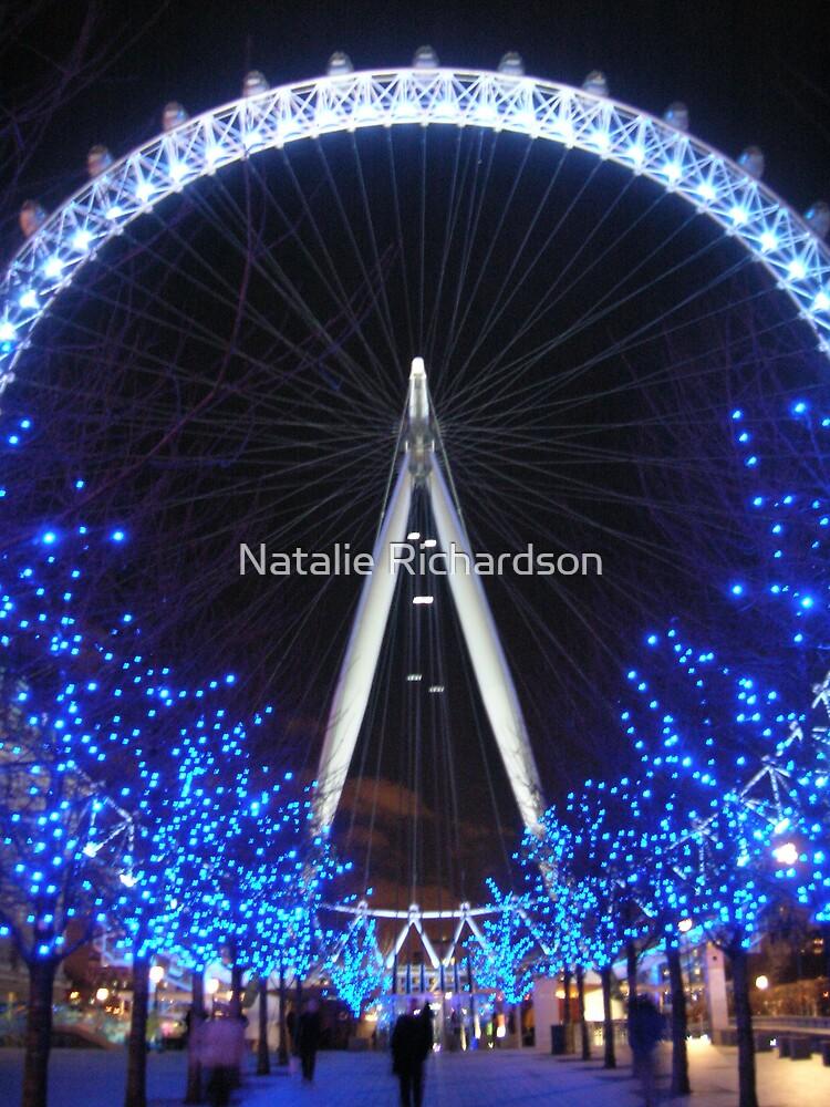 London Eye by Night by Natalie Richardson