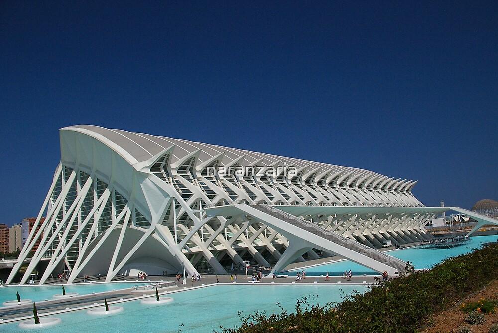 Science building in Valencia. by naranzaria