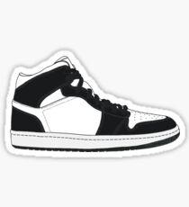 "Air Jordan I (1) ""Black&White"" Sticker"