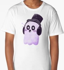 headphones? tophat? how about both! Long T-Shirt