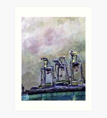 Alameda sentinels 02 Art Print