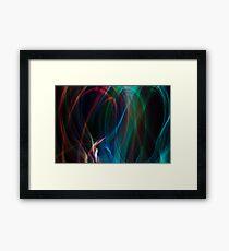 Heart in the Air Framed Print