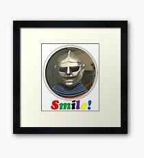 Smile Robot Framed Print
