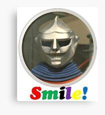 Smile Robot Canvas Print