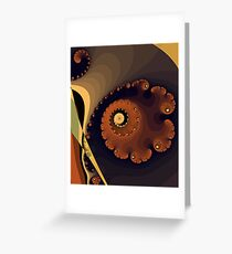 Spirals Greeting Card