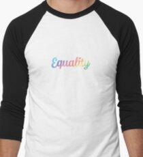 EQUALITY Men's Baseball ¾ T-Shirt