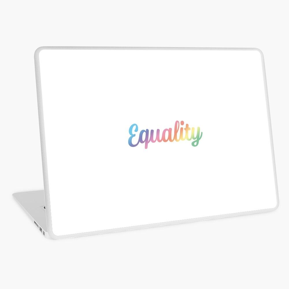 EQUALITY Laptop Skin