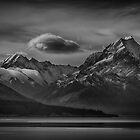 The Drama of Mt Cook by Linda Cutche