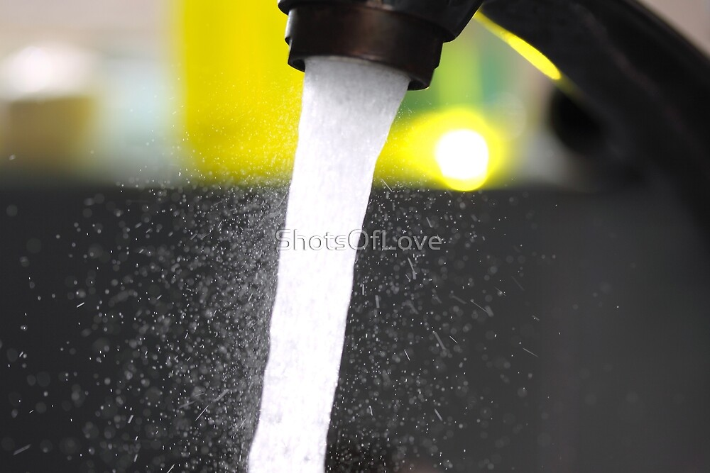 Faucet Spray by ShotsOfLove