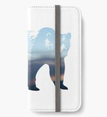 wild cascadia - bear iPhone Wallet/Case/Skin
