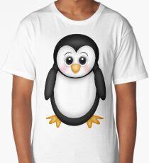 Cute 3D Penguin Long T-Shirt