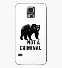 bear is not a criminal Case/Skin for Samsung Galaxy