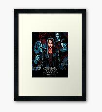 orphan black Framed Print
