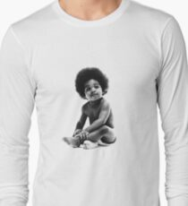 Ready to Die Notorious BIG replica baby print Long Sleeve T-Shirt