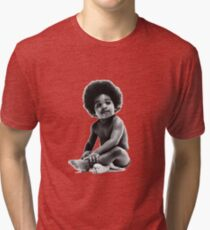 Ready to Die Notorious BIG replica baby print Tri-blend T-Shirt