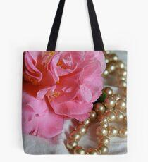 Pink Pearls Tote Bag