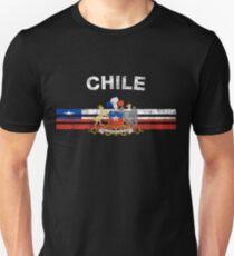 Chilean Flag Shirt - Chilean Emblem & Chile Flag Shirt Unisex T-Shirt