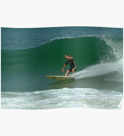 Surfer, National Seashore, Cape Cod Poster