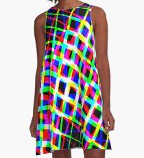 Shape it Bright A-Line Dress