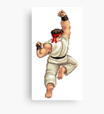 Eat Fist Canvas Print