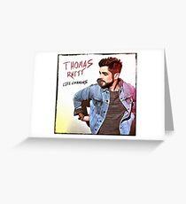 Thomas Rhett Greeting Card