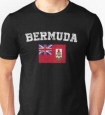 Bermudian Flag Shirt - Vintage Bermuda T-Shirt Unisex T-Shirt