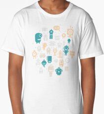 Robots Long T-Shirt