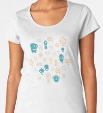 Robots Women's Premium T-Shirt