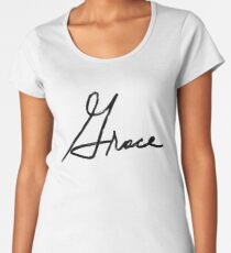 scripted- Grace Women's Premium T-Shirt