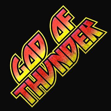 God Of Thunder by ChungThing