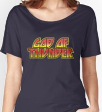 God Of Thunder Women's Relaxed Fit T-Shirt