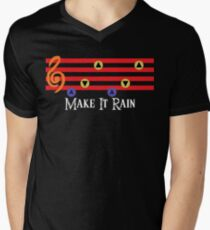 Make It Rain Men's V-Neck T-Shirt
