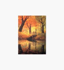 Autumn leaves Art Board