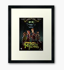 Monkey Island 5  Framed Print