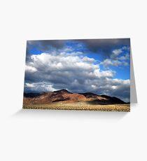 Mojave Greeting Card