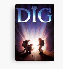 The Dig Canvas Print