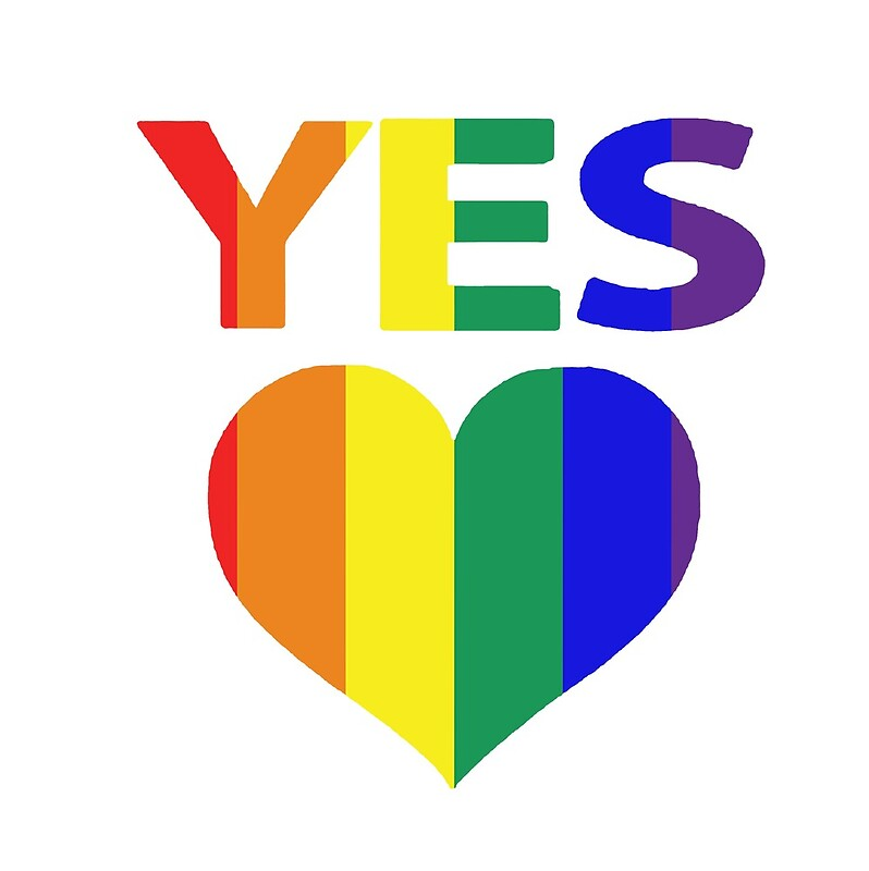 Yes Vote In Marriage Equality Posters By Dogridd Redbubble