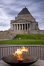 Shrine of Remembrance, Melbourne, VIC by Christine Smith