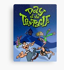 Day Of The Tentacle Metal Print