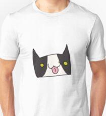 Catmoji Blep Tuxedo T-Shirt