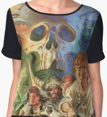 Monkey Island Women's Chiffon Top